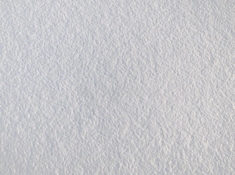 Oberflächenbeschaffenheit des weißen Schnees lizenzfreies stockfoto