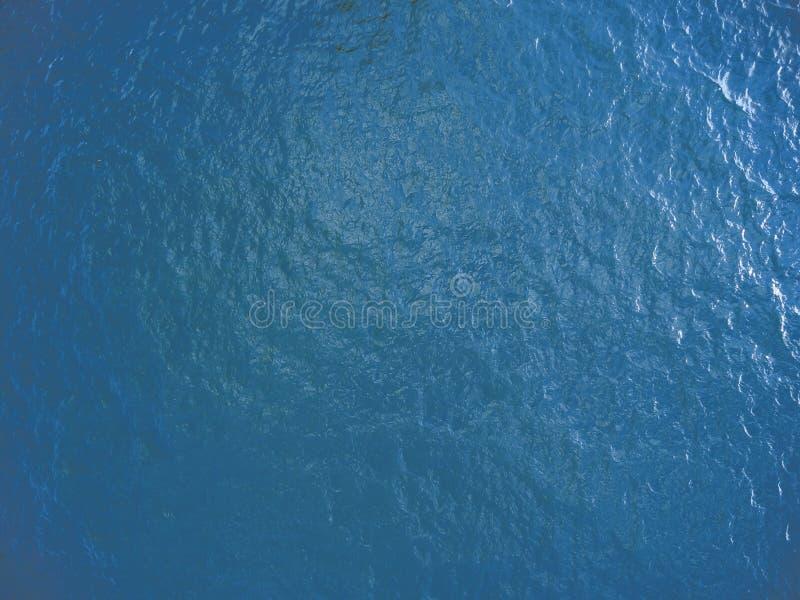 Oberflächenblau stockfoto