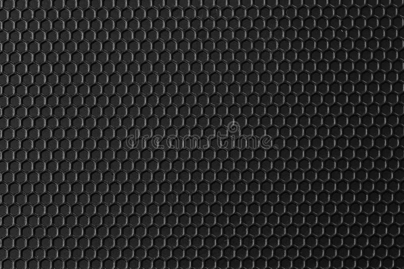 Oberfl?che des schwarzen Mustermetalls ist ein Tabellenhintergrund stockbilder