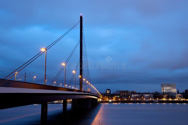 Download Oberkasseler bridge stock photo. Image of traffic, reine - 22128112
