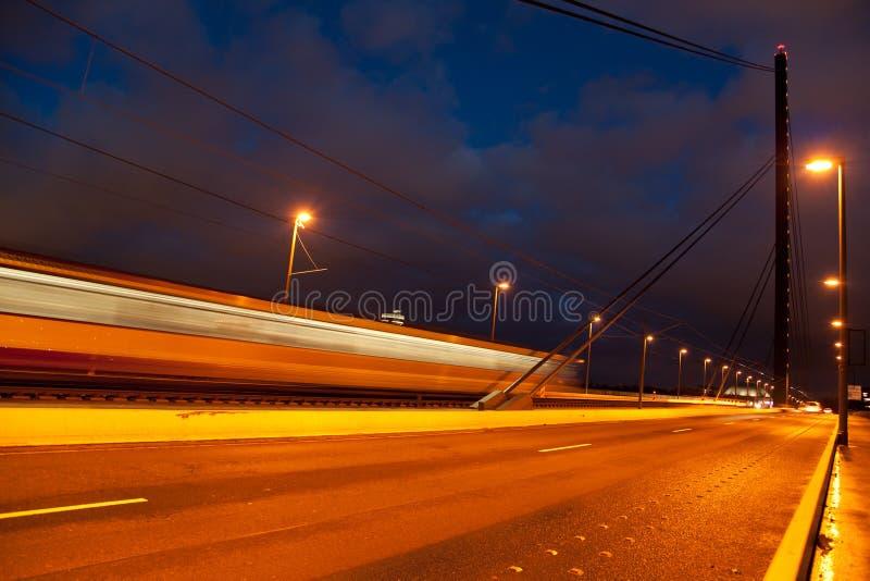Download Oberkasseler bridge stock photo. Image of hour, scenic - 22128114