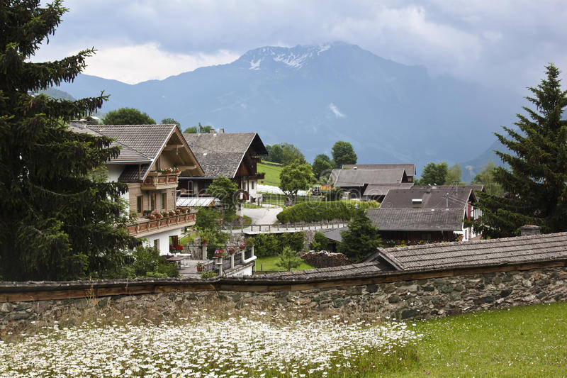 Obermauern and NP Hohe Tauern, Austria royalty free stock images