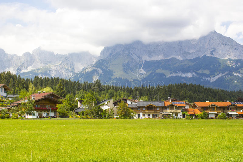 Oberndorf dans le Tirol, Autriche photo libre de droits
