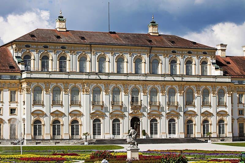 Oberschleissheim, Германия - новый дворец Schleissheim, итальянский g стоковые фотографии rf