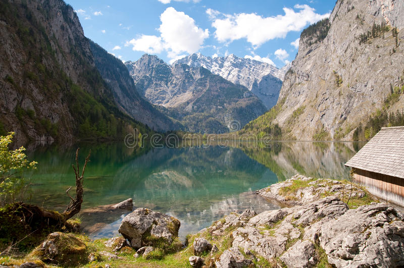 Obersee lake, Germany royalty free stock photos