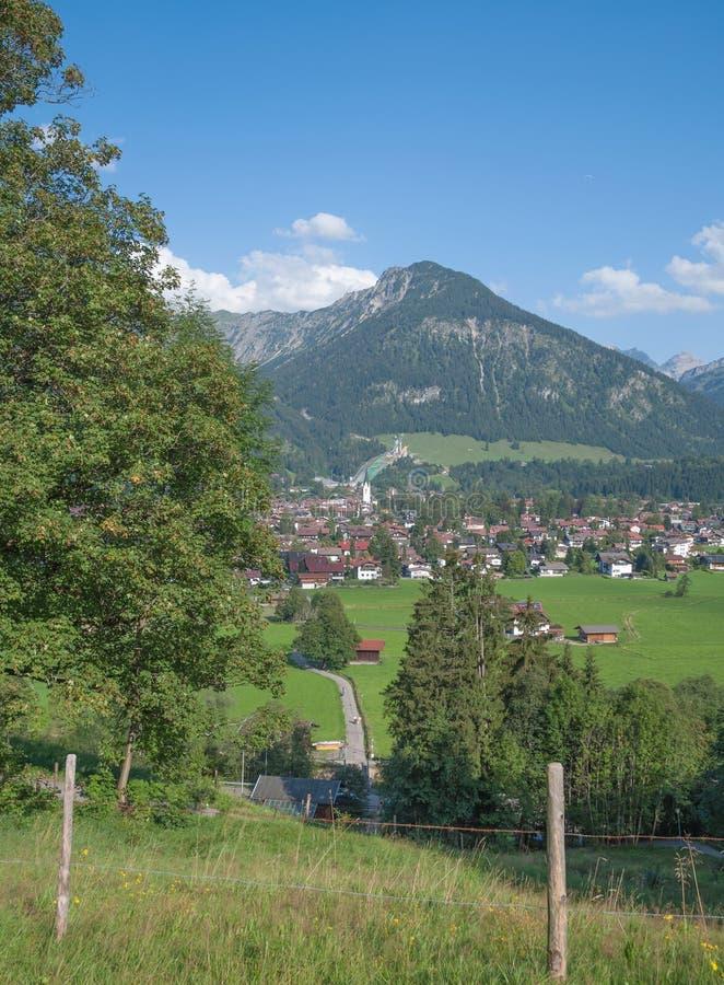 Oberstdorf,Bavaria,Germany