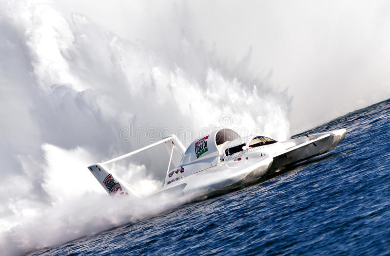 Oberto Hydroplane royalty free stock photos