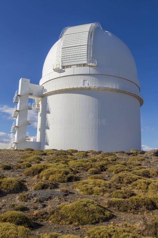 Obervatório astrológico do telescópio imagens de stock royalty free