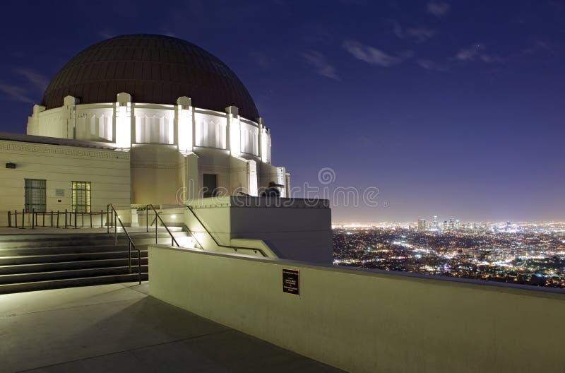 Obervatório de Griffith no LA fotos de stock royalty free