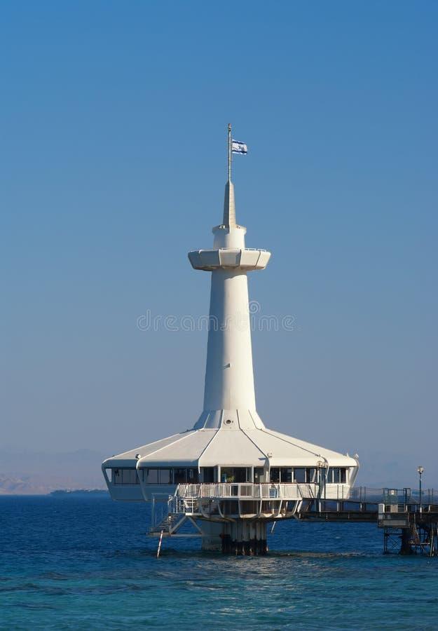 Obervatório subaquático de Eilat imagem de stock royalty free