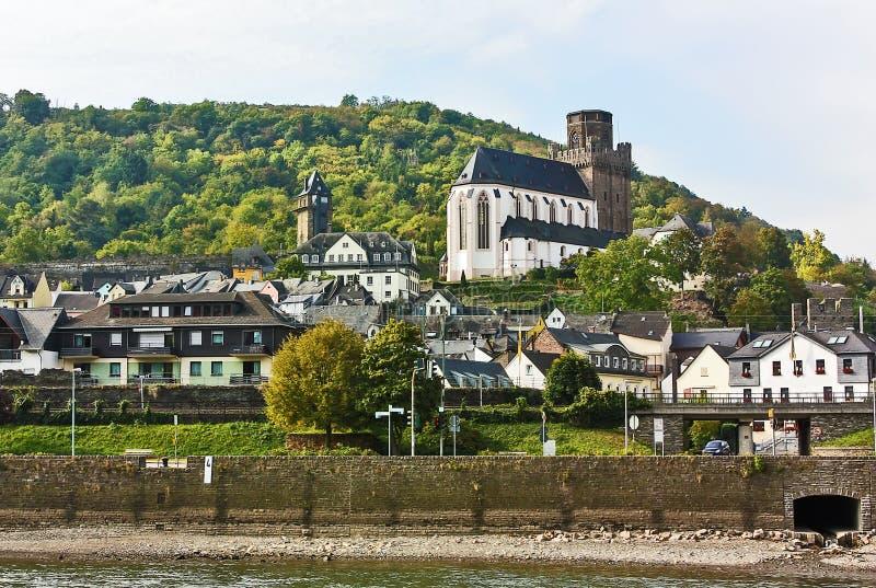Vallée du Rhin, appropriée photos libres de droits