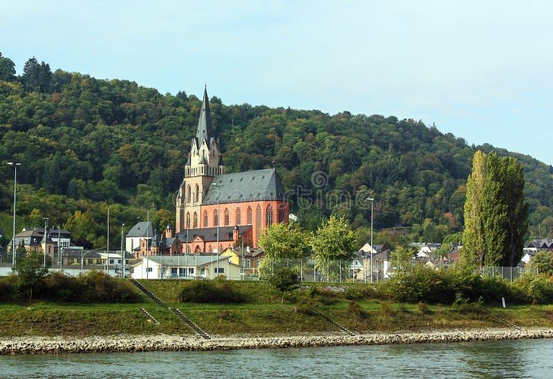 Vallée du Rhin, appropriée images libres de droits