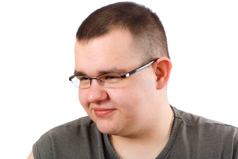 obese man royaltyfria foton