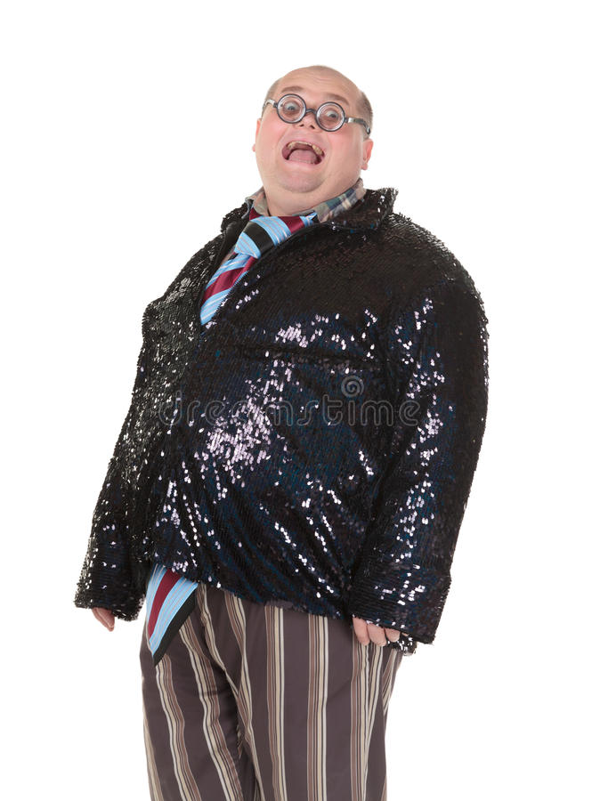 Download Obese Man With An Outrageous Fashion Sense Stock Photo - Image: 28961826