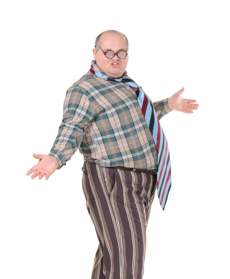 Download Obese Man With An Outrageous Fashion Sense Stock Photo - Image: 28961898