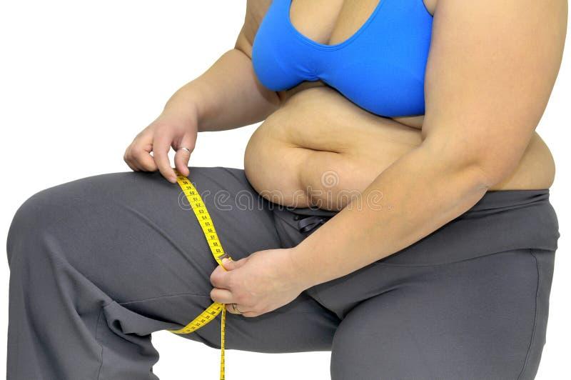 Obesidade imagem de stock