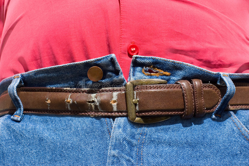 Obesity - Belt Last Hole. Obesity - Tummy Last Hope after Lunch