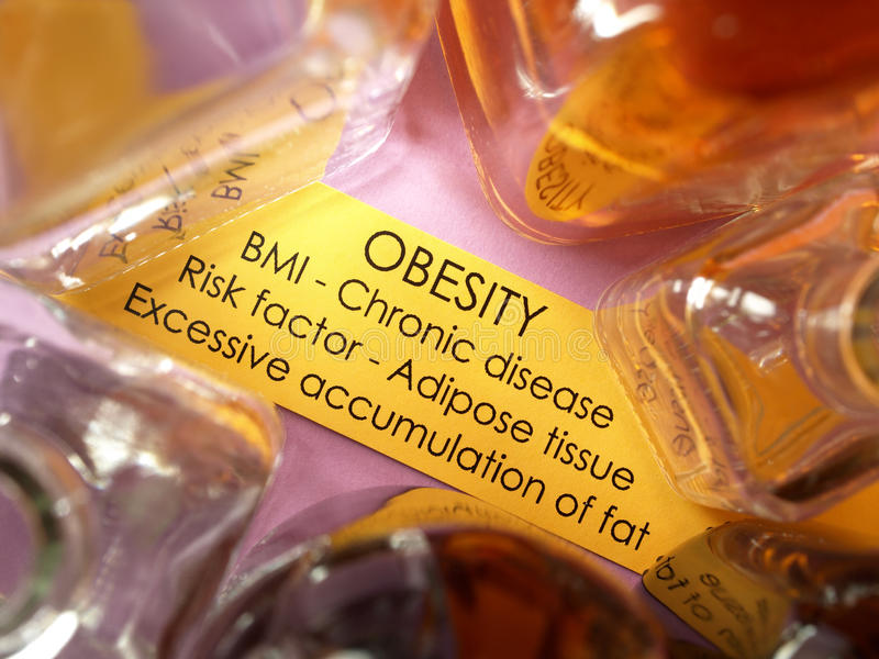 Obesity Treatments Royalty Free Stock Images