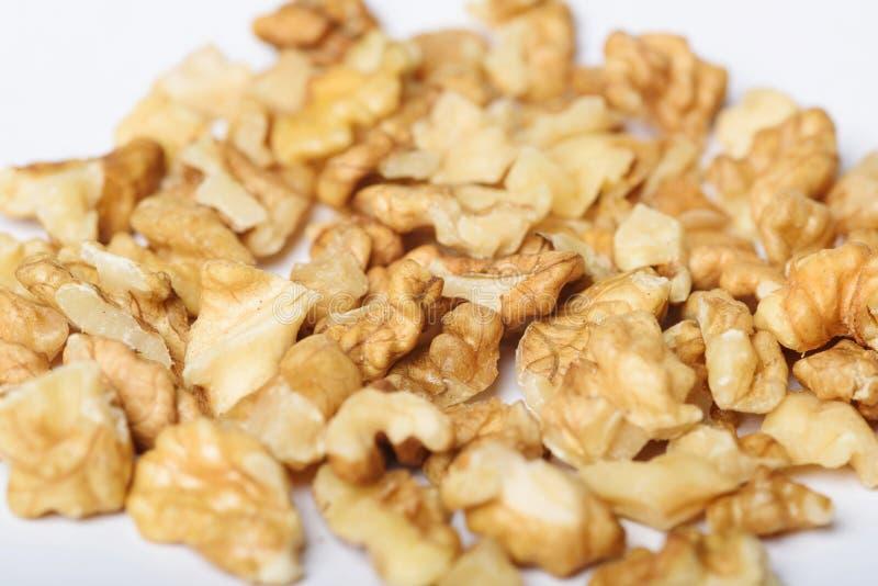 Obfitość Nutmeats zdjęcia stock