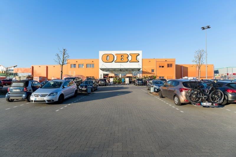 OBI-Speicher in Elmshorn, Deutschland lizenzfreie stockfotografie
