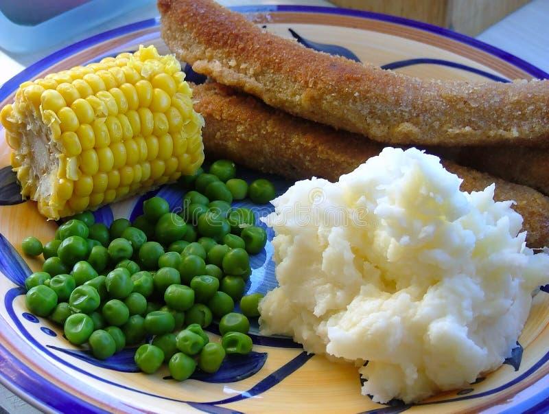 obiad zdjęcie royalty free