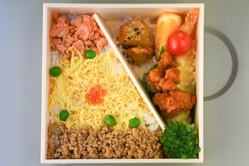 Obiad, japoński styl fotografia stock