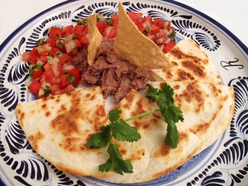 obiadowi meksykańscy synchronizadas fotografia royalty free