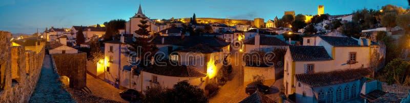 Obidos, Portogallo fotografia stock libera da diritti