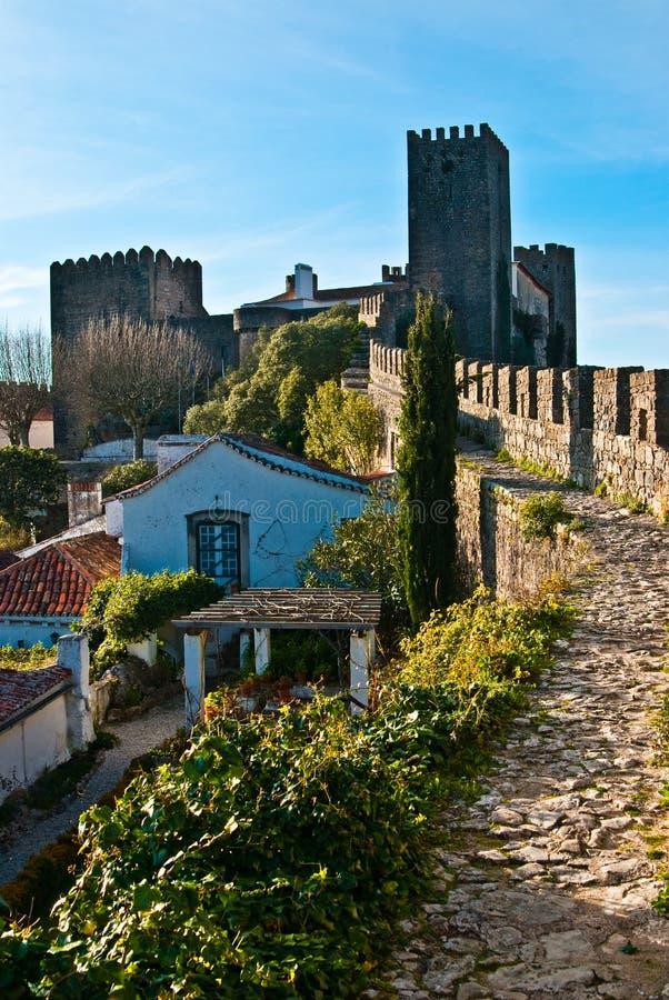 Obidos/Portogallo fotografia stock
