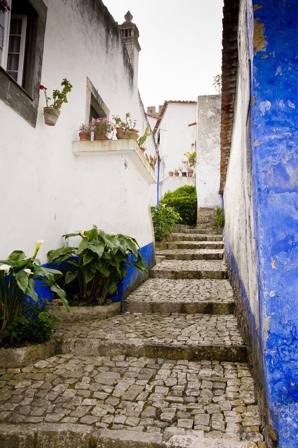Obidos Portogallo immagini stock libere da diritti