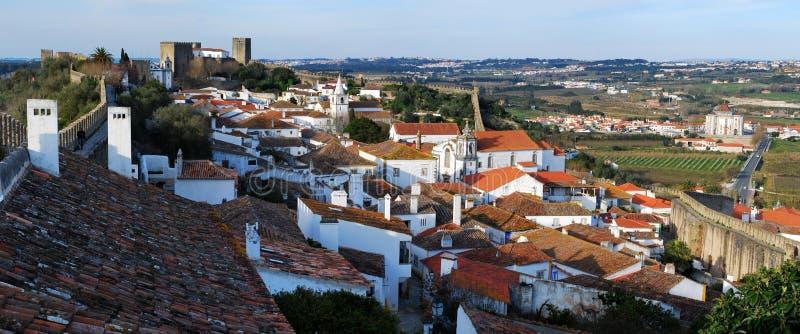Obidos, Portugal images libres de droits