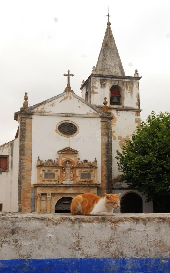 obidos portugal royaltyfri fotografi