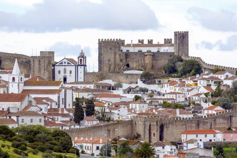Obidos, Portugal fotografia de stock royalty free