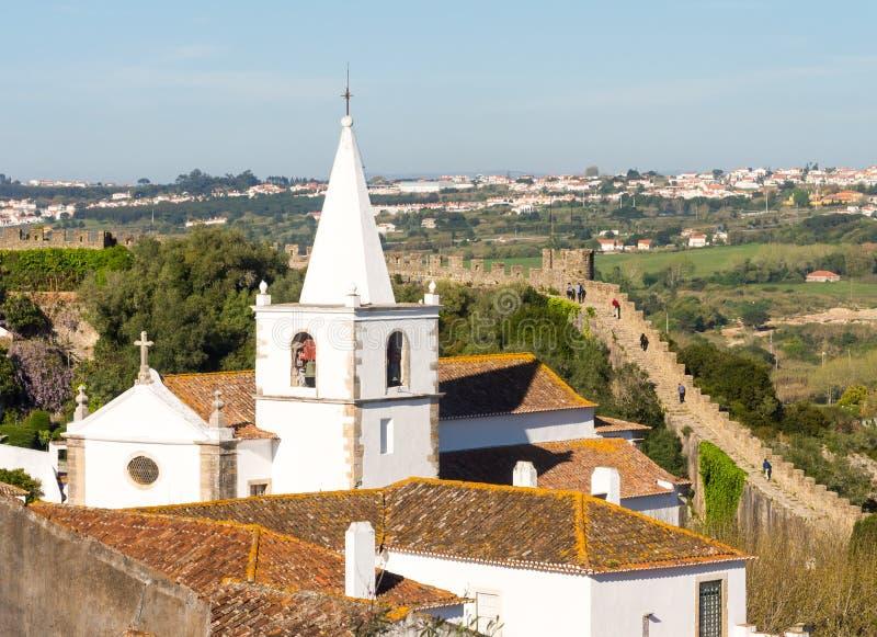 Obidos, Portugal image stock