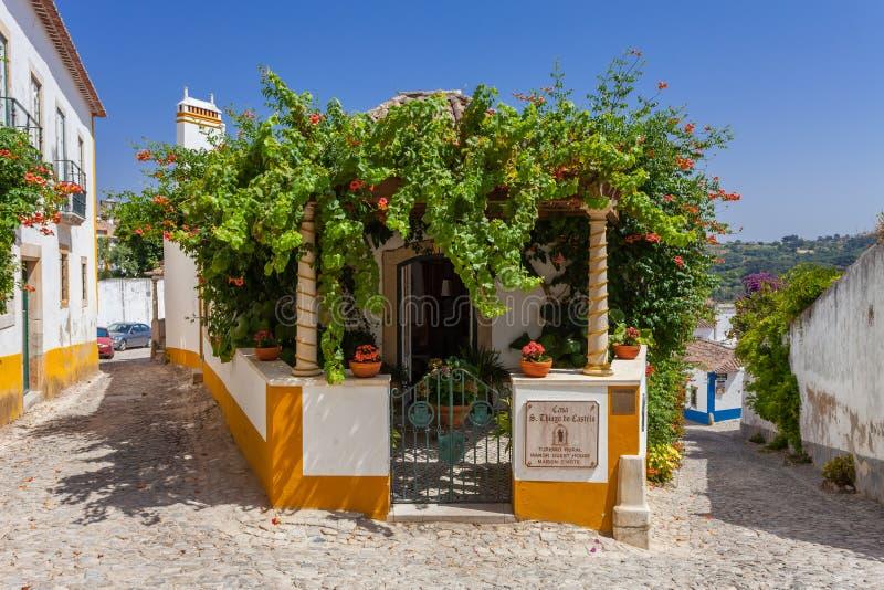 Obidos, Portugal Sao Thiago Manor Guest House photographie stock libre de droits