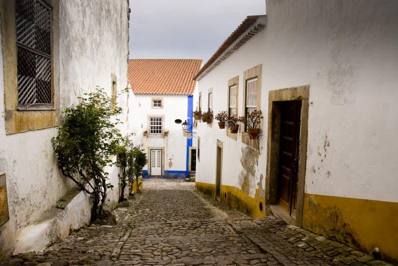 Obidos Portugal stock photography