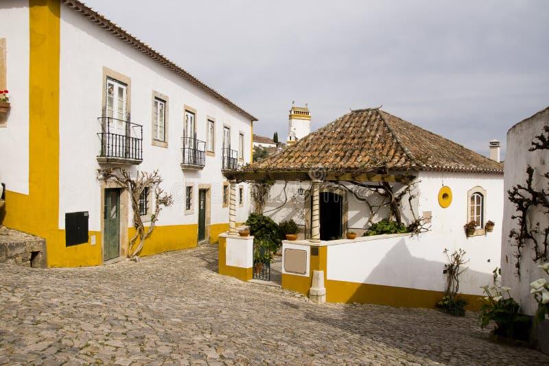 Obidos Portugal stock image