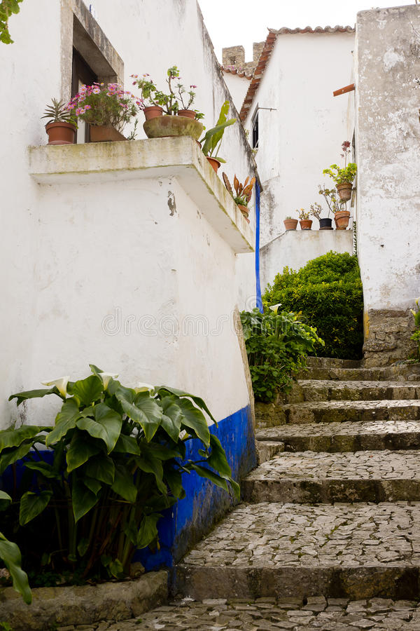 Obidos Portugal royalty free stock images