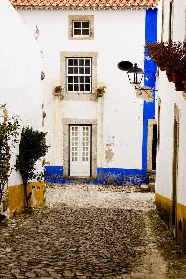 Obidos Portugal stock photo