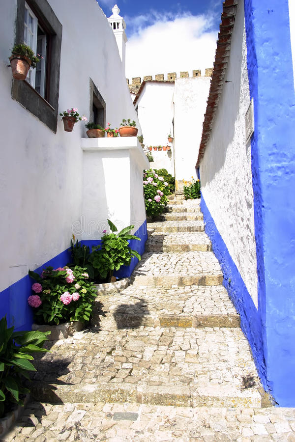 Obidos Slope Stock Photography