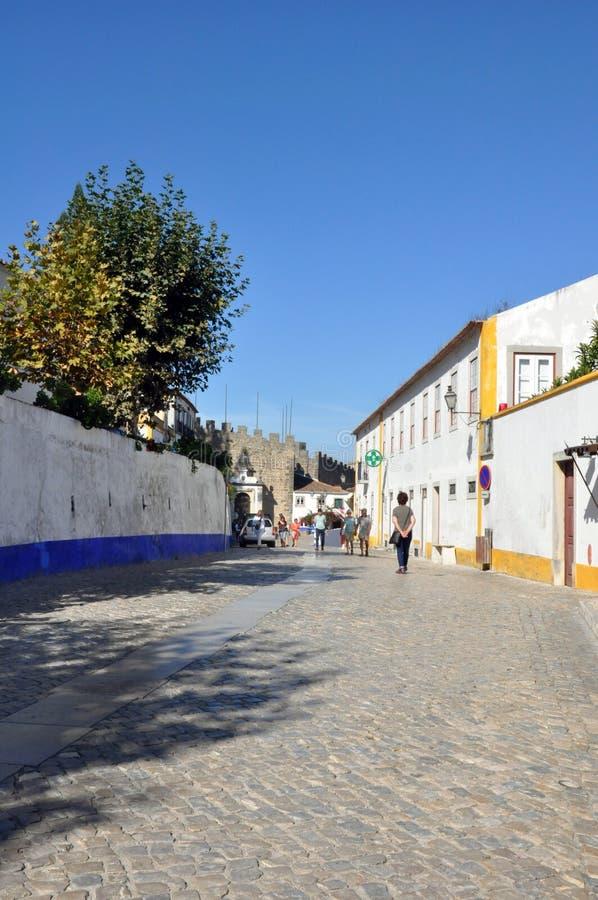 Obidus, Portugal foto de stock