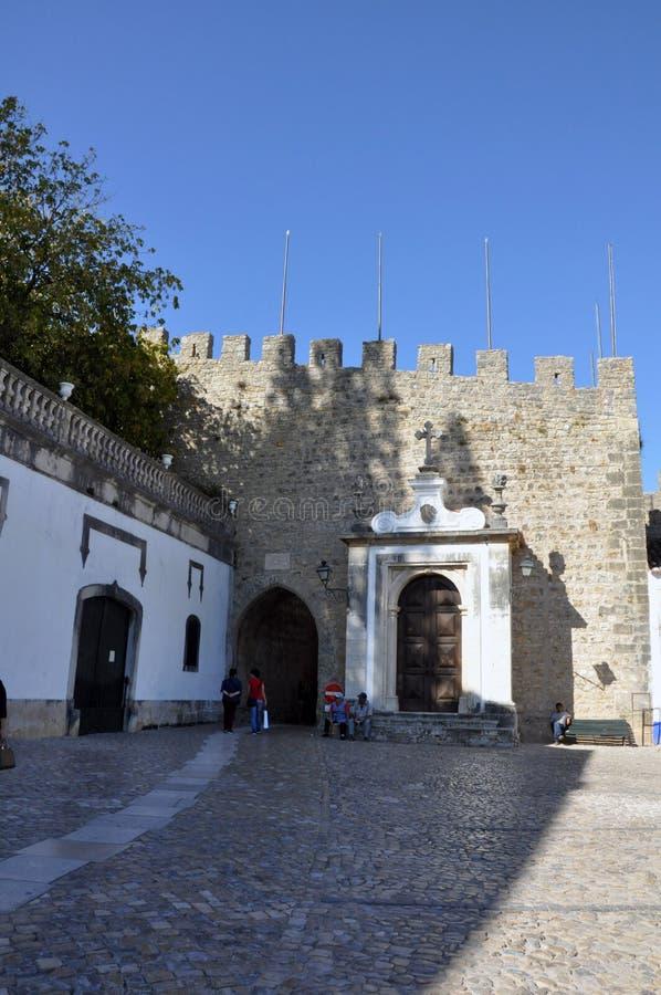 Obidus, Portugal imagens de stock