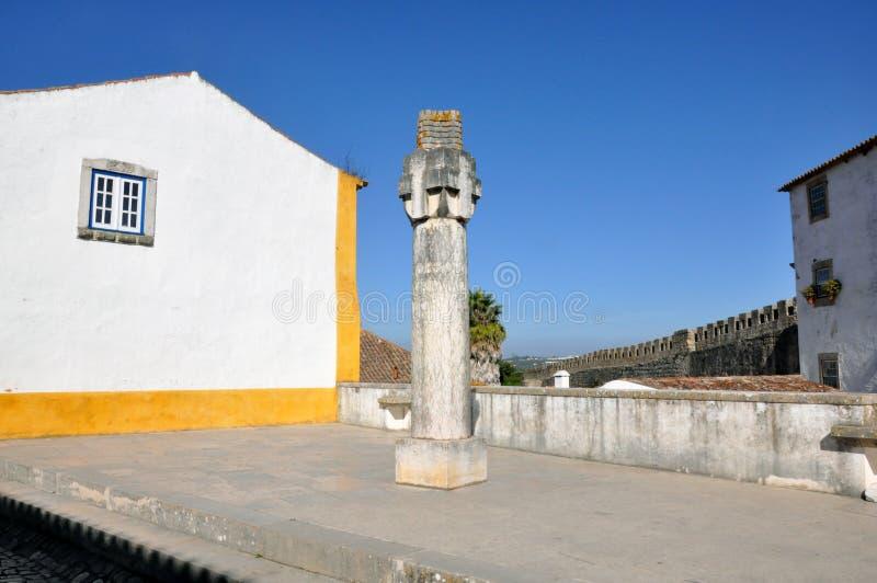 Obidus, Portugal foto de stock royalty free