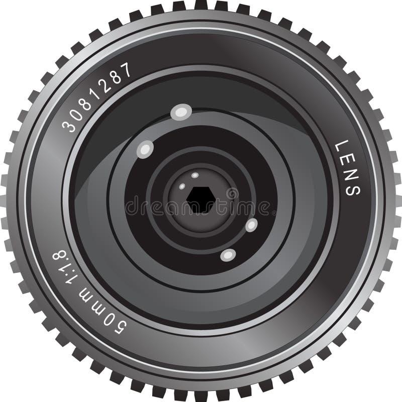 obiektyw kamery ilustracja wektor