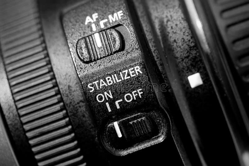 Obiektywu stabilizator fotografia stock