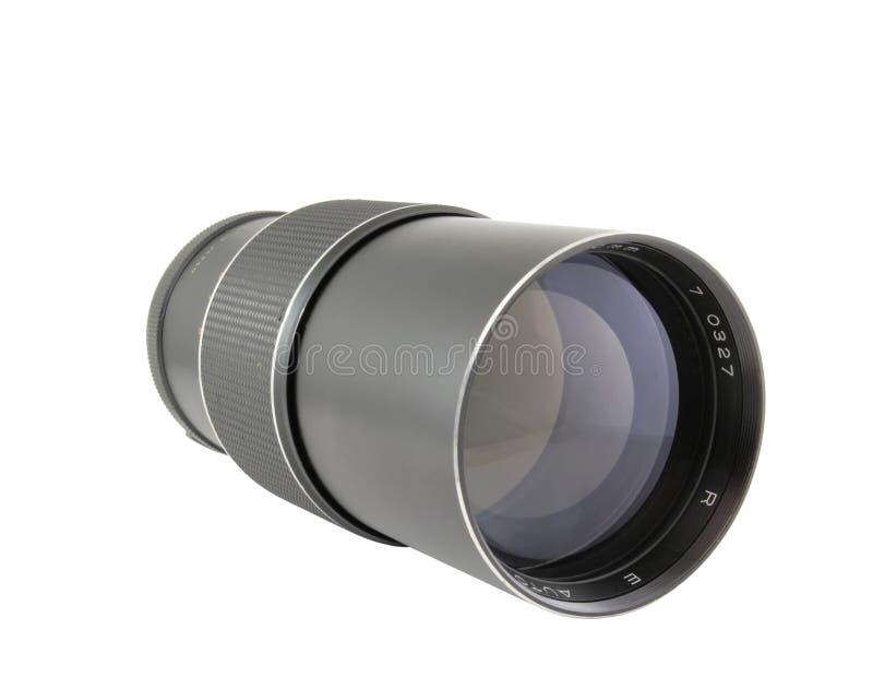 obiektywu telephoto rocznik fotografia stock