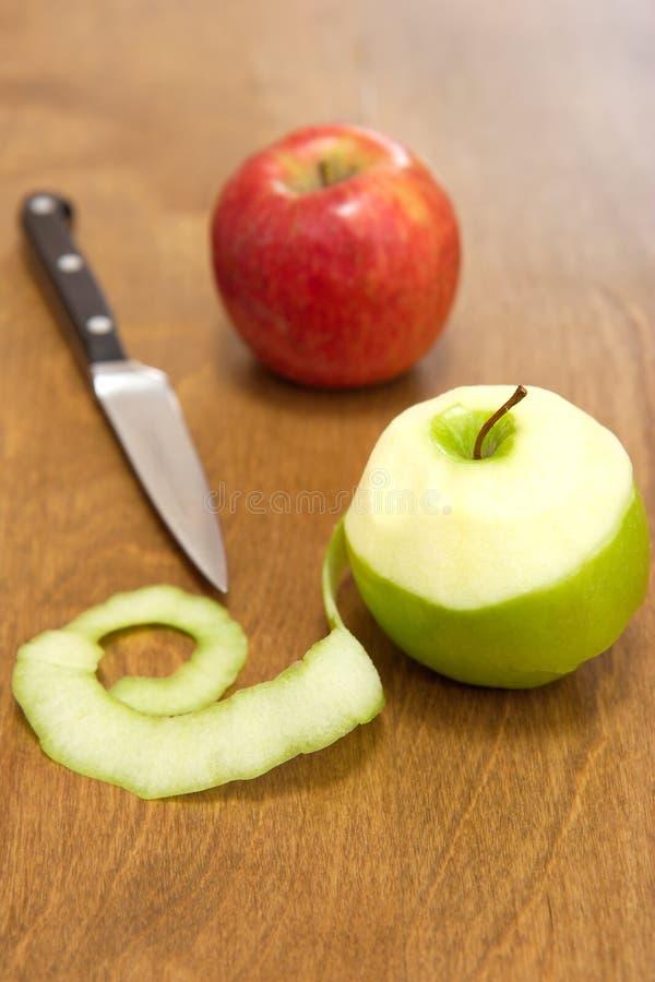 obierać jabłek obraz royalty free