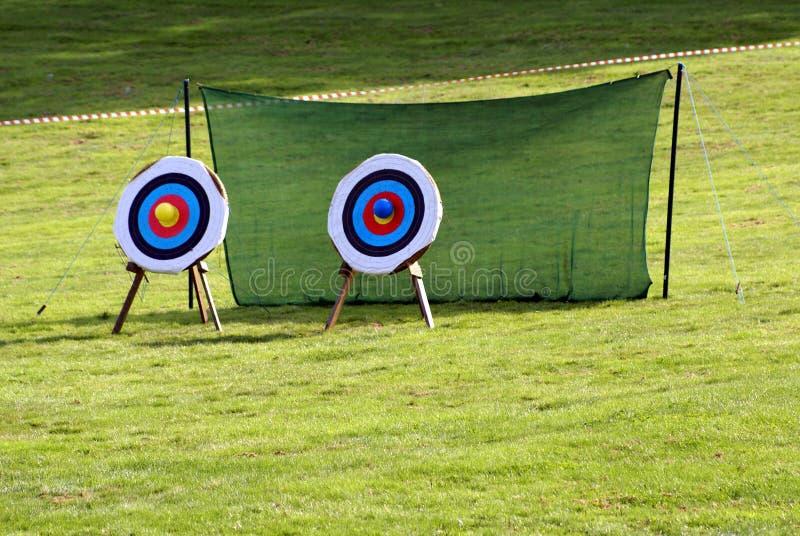 obiettivi archery gioco sport ricreazione svago immagine stock