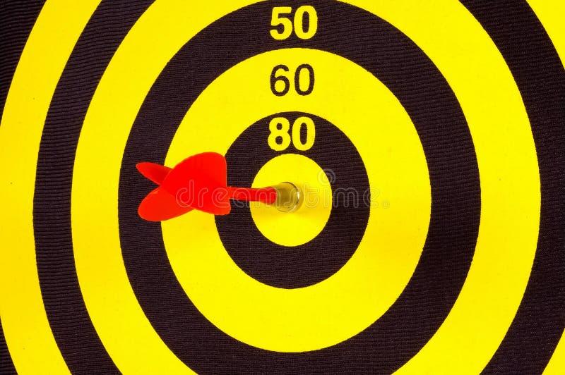 Obiettivo immagine stock
