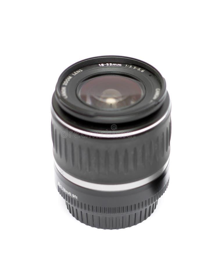 Obiettivo, 18-50mm immagini stock